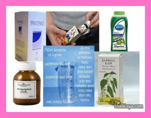 Šampon za brži rast kose - sastojci