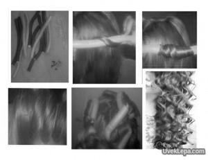 Spiralno uvijanje kose